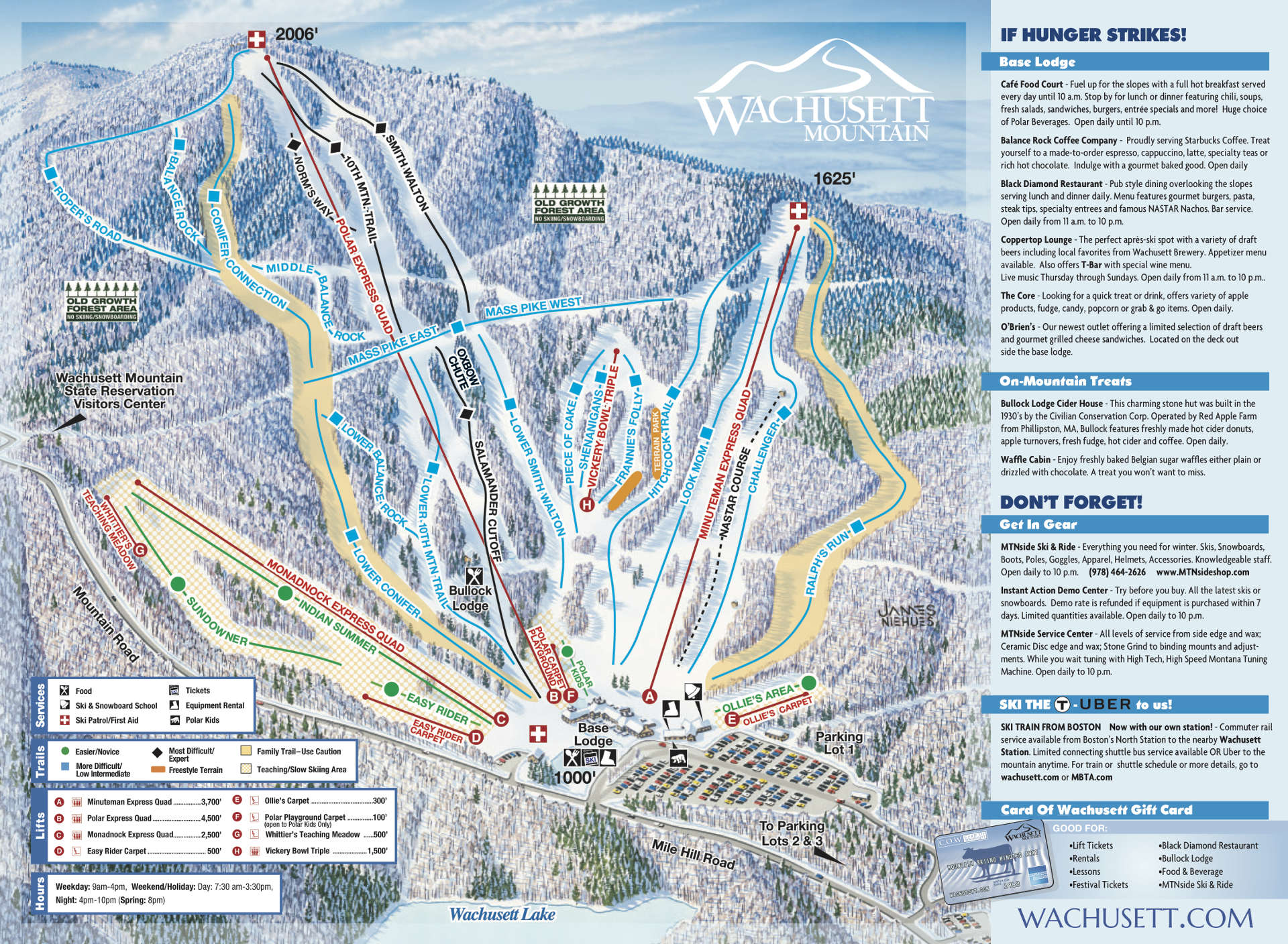 Trail Map | Wachusett Mountain